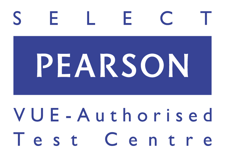 Pearson VUE Authorised Test Centre Select logo_EMEA