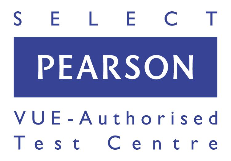 Pearson VUE Authorised Test Centre Select logo_EMEA