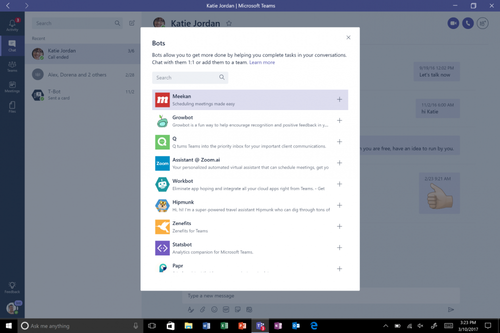 Microsoft Teams. Боты