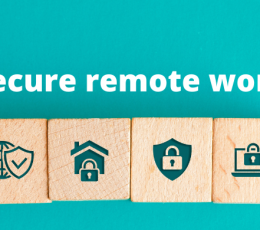 Recommendations to secure remote work