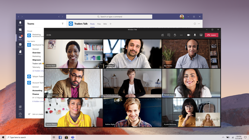 Microsoft Teams management